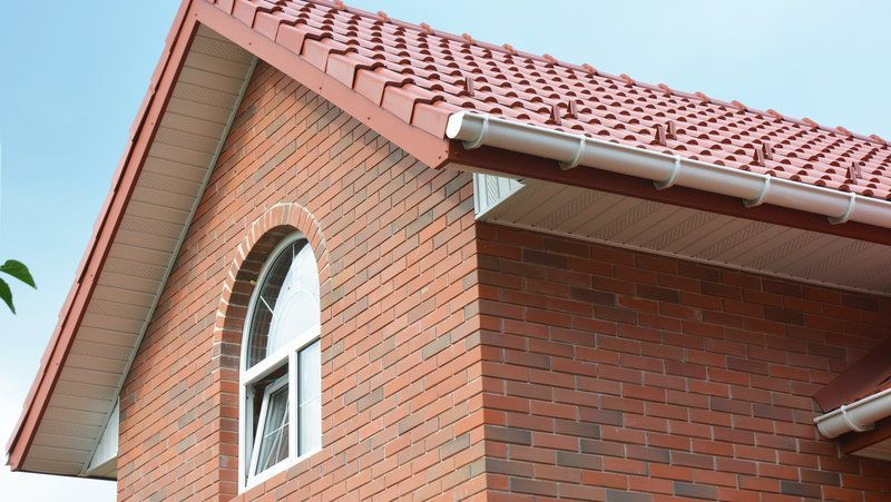 Fascias and Soffits on a domestic home